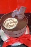 Chocolate Tractor Cake