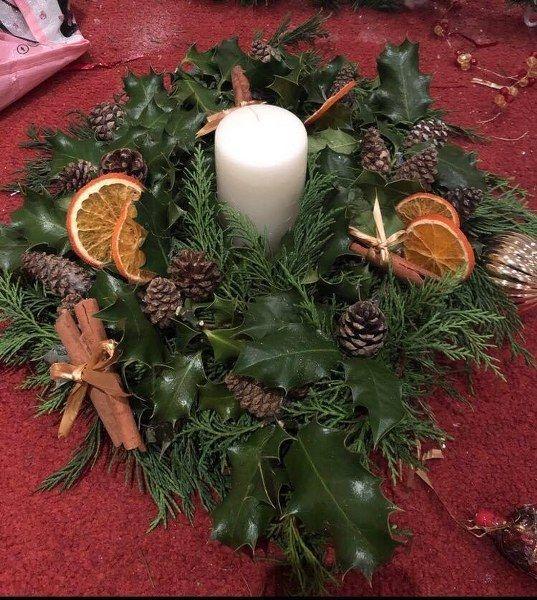 8th December Christmas Afternoon tea and Centre Piece Making Workshop