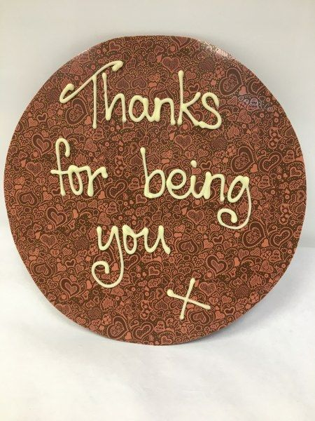 Thanks for.... Chocolate puddle
